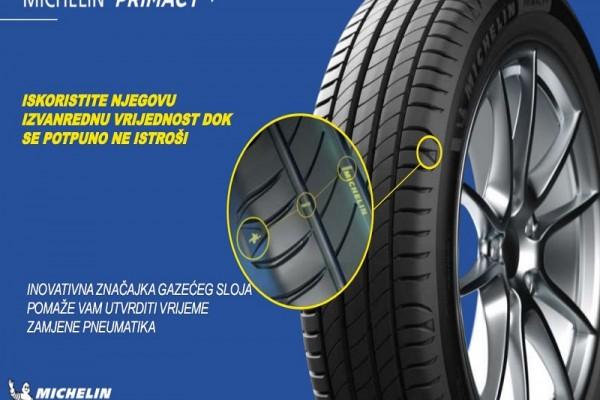 Michelin Primacy 4 : siguran kad je nov, siguran kad je istrošen